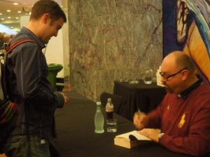 Me and Carlos Ruiz Zafon