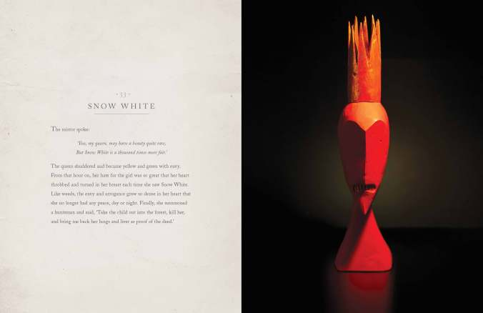 Snow White by Shaun Tan, from The Singing Bones published by Allen and Unwin