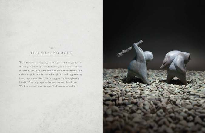 The Singing Bone by Shaun Tan, from The Singing Bones published by Allen and Unwin